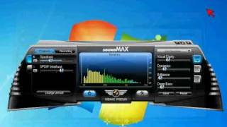 SoundMAX BlackHawk running on Windows 7