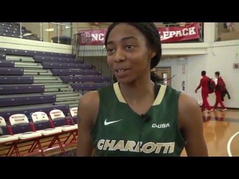 Charlotte Women's Basketball vs. NC State Postgame