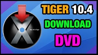 MAC OSX | TIGER 10.4 - Install DVD