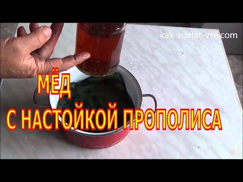 Мед с прополисом: полезные свойства, применение и