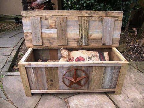 Creative Storage Box And Bench Youtube