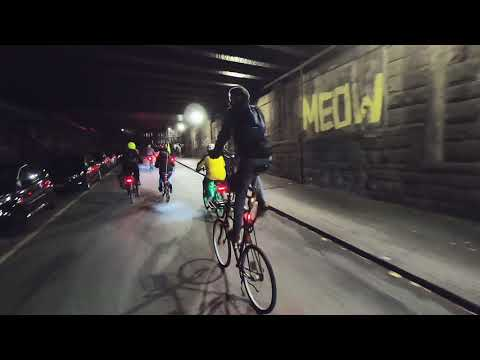 Critical Mass Wuppertal - November 2018