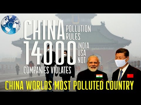 CHINA has 14000 Companies Violates Pollution rules than INDIA