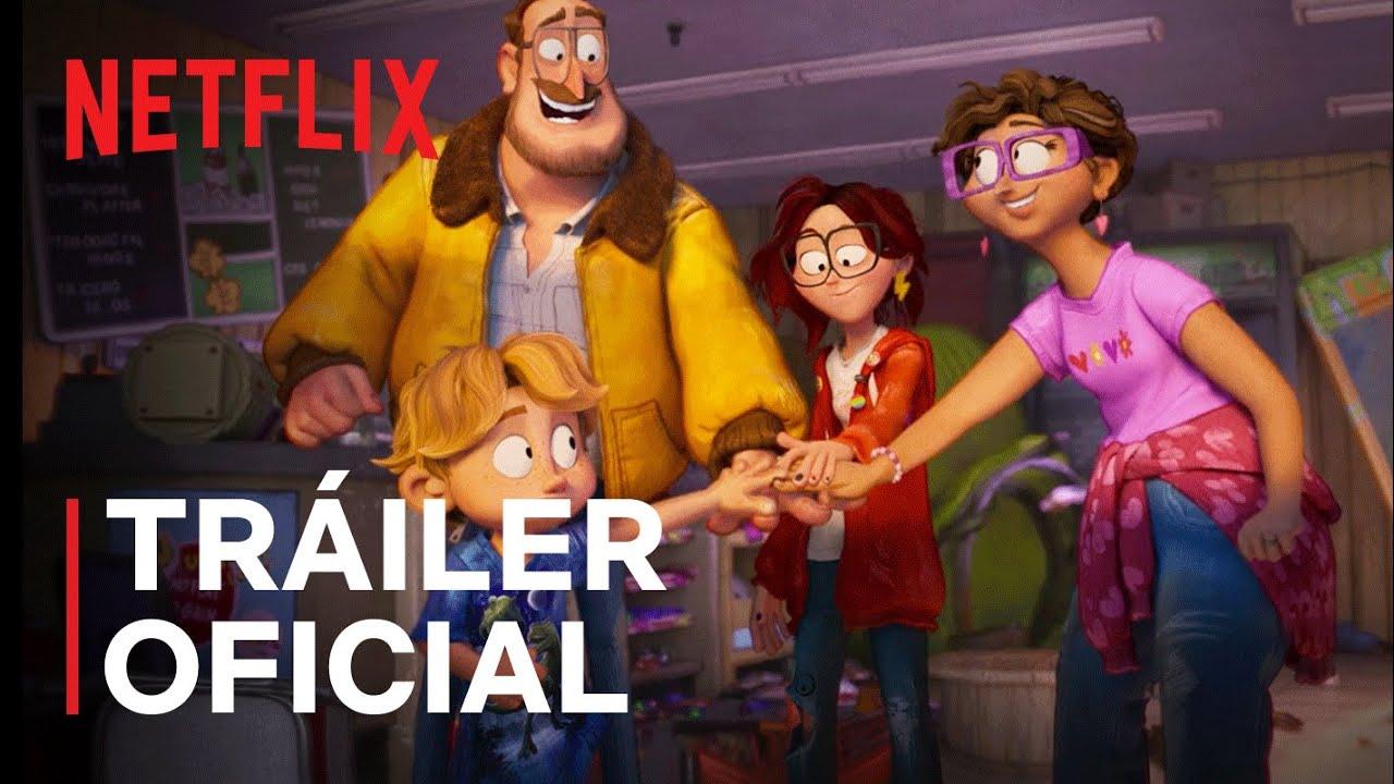 La familia Mitchell vs. las máquinas | Tráiler oficial | Netflix - YouTube