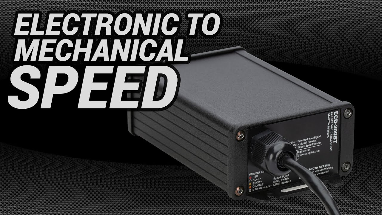 ECD-200BT: Electronic Signal to Mechanical Cable Drive Adaptor