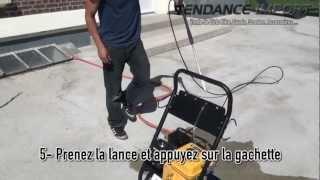 Tendance Import - Mise en route du Nettoyeur Haute Pression Thermique