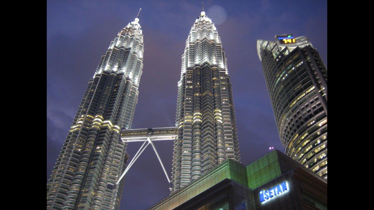 Las Torres Petronas Kuala Lumpur Malasia Youtube