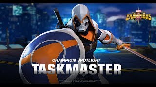 Marvel Contest of Champions Taskmaster Spotlight by game box|Game Box|