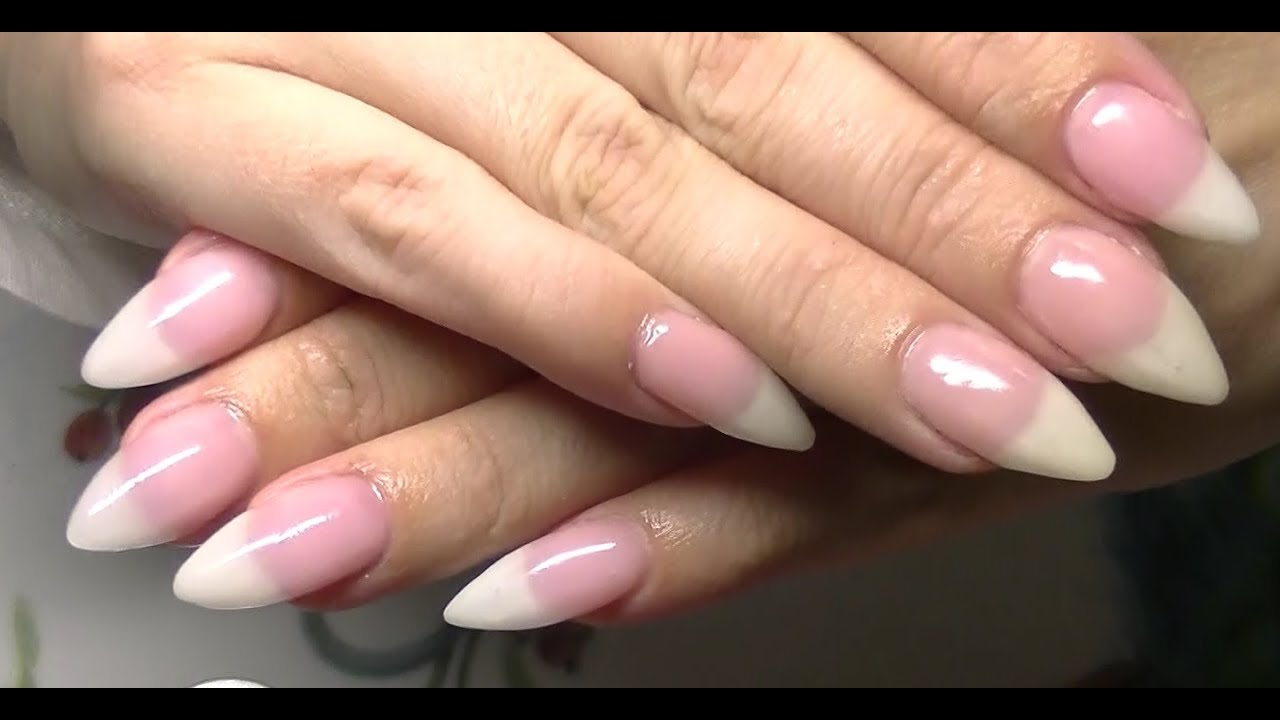 Doing My Gel Nails ~ Allergy Friendly (Not a Pro) - YouTube