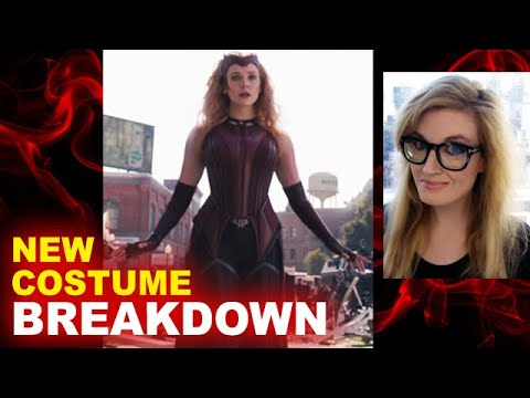 WandaVision - Scarlet Witch New Costume BREAKDOWN - Beyond The