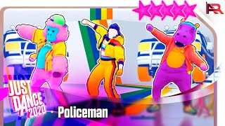 Just Dance 2020: Policeman by Eva Simons Ft. Konshens - 5 Stars Gameplay