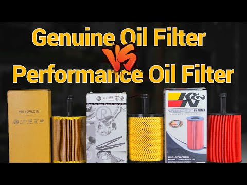 K&N vs Genuine - Oil filter comparison & test from YouTube · Duration:  12 minutes 6 seconds