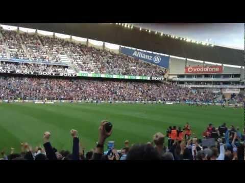Del Piero Freekick vs Newcastle. Live from Allianz Stadium.