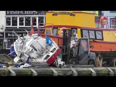 Brixham Sunk/Wrecked Yacht Disposal 06/02/2019