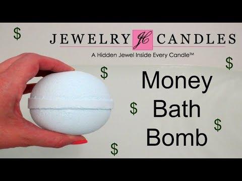 Jewelry Candles - Tiki Party Bath Bomb Cash Reveal!