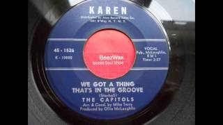 capitols - we got a thing that