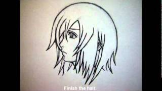 How to draw Kairi