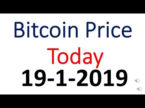 Bitcoin Price Today 19January 2019   Bitcoin Price Today In Indian Rupees