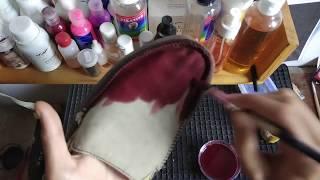 Nyobain cat sepatu bikinan sendiri dan HASIL NYA .. JOSS!!!!!!