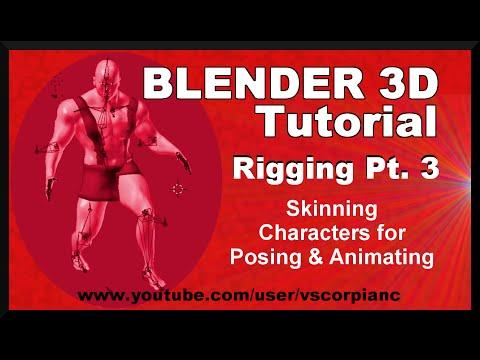 Blender Tutorial Robot Dog Animation Part  Rigging