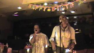Rick James & Teena Marie - Fire and Desire - Karaoke by  Lady Crystal & Curtis