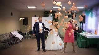 Клип Нежно персиковая свадьба Александр и Ольга