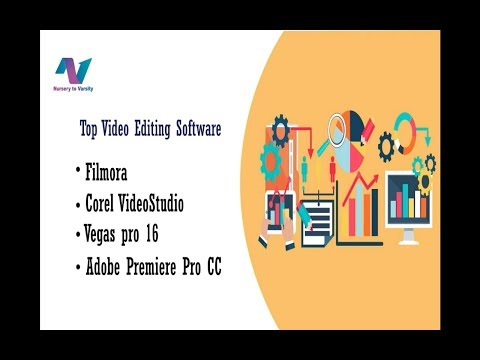 Reviews on Video editing Software | Filmora|Corel VideoStudio|Vegas Pro 16 | Adobe Premiere Pro CC