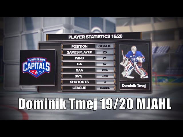 #30 - Dominik Tmej Showcase/Highlights 19/20 | Summerside Western Capitals - MJAHL