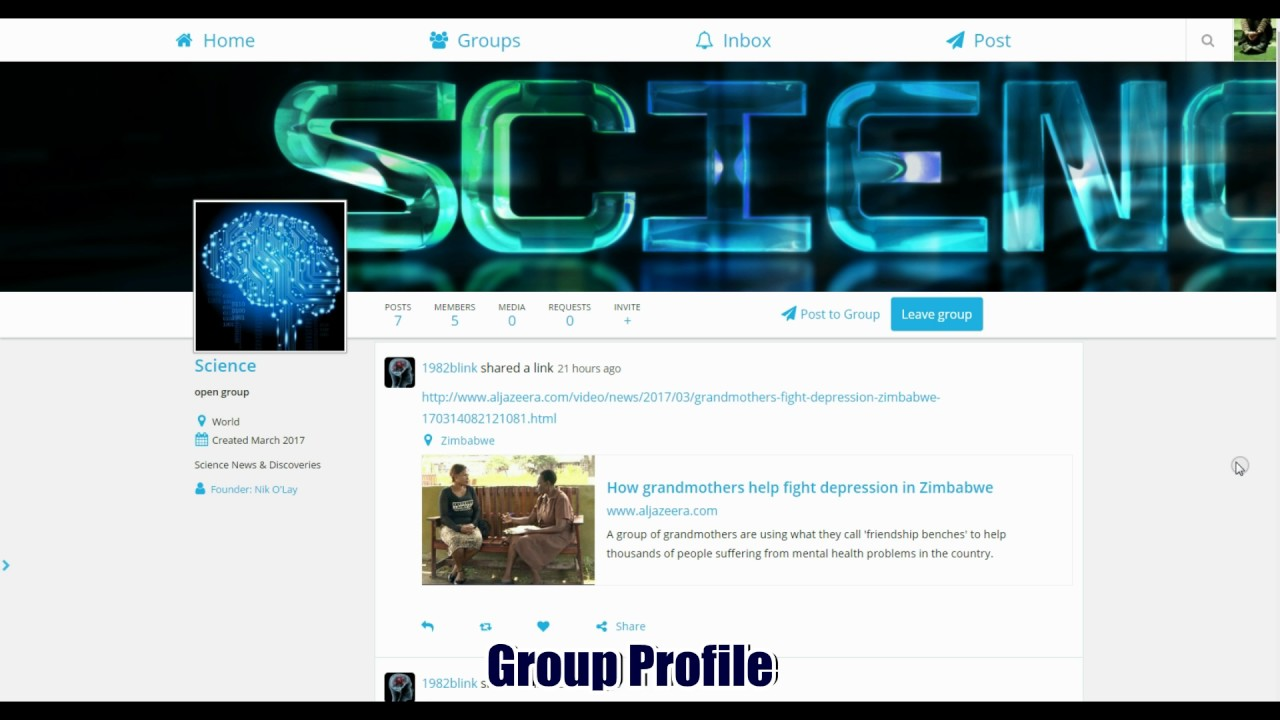 Twitter Elgg Clone Social Network Template Version 20 Youtube