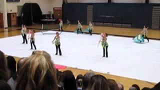 Shawnee Mission South HS Winter Guard 2013