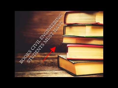 books every civil engineering student must have