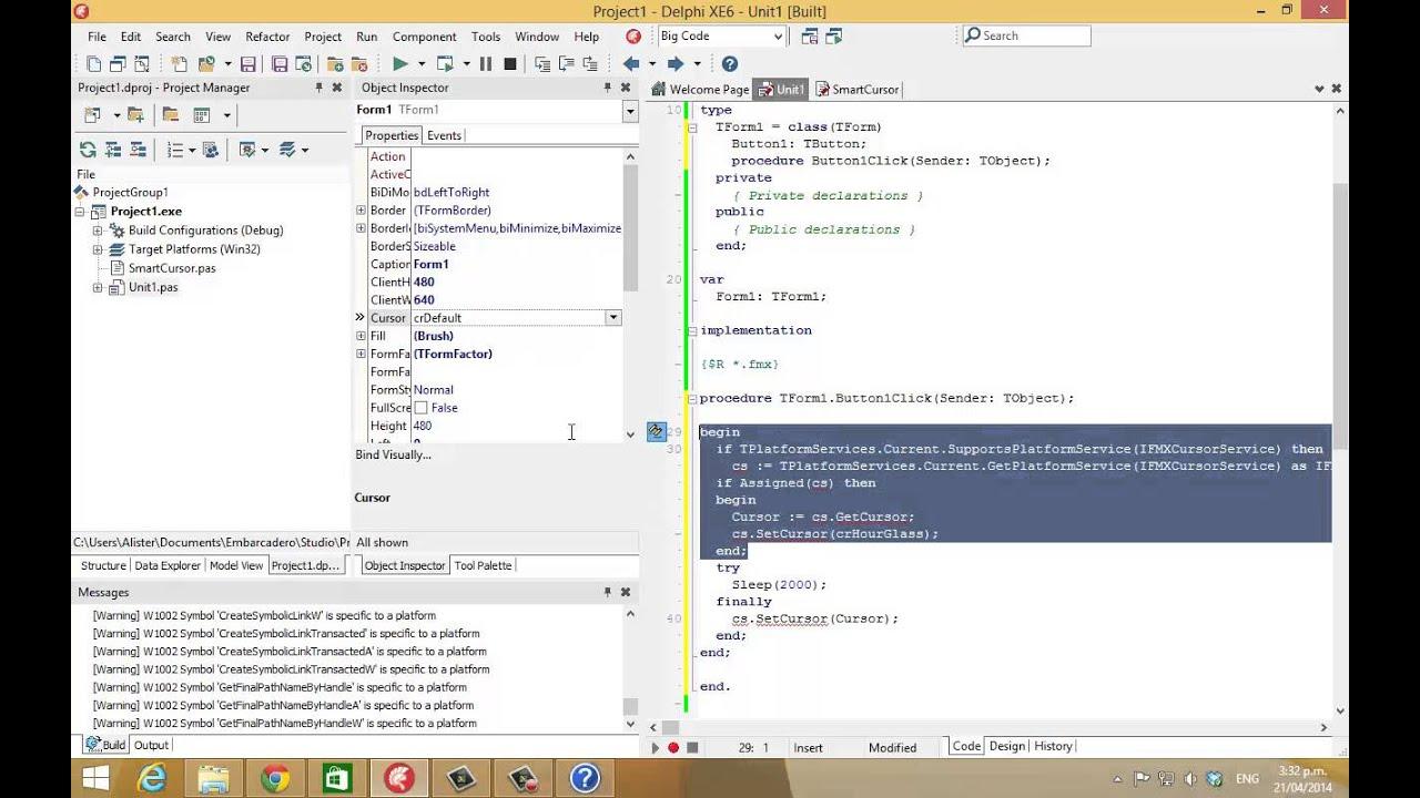 how to program delphi 3