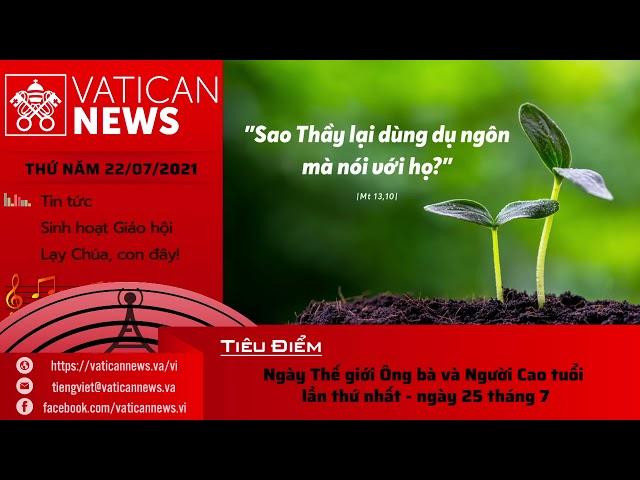 Radio thứ Năm 22/07/2021 - Vatican News Tiếng Việt