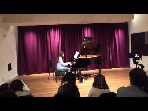 Maya First Public Piano Recital 03 05 2016