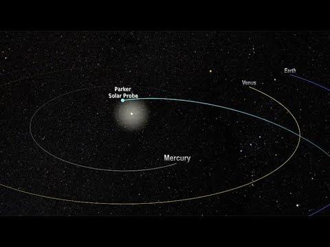Parker Solar Probe – orbit and timeline (4K)