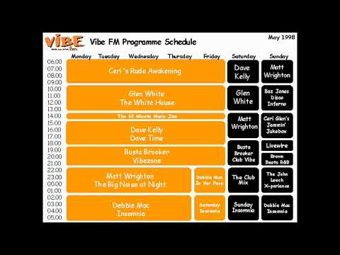 Tape 9 Vibe 105 Fm 1999 Daytime Show Bury st Edmunds & East of England Radio