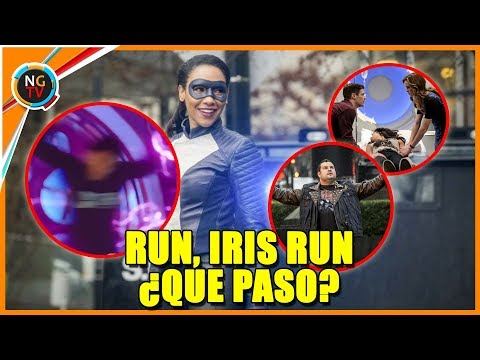 The Flash 4x16 Run, Iris Run - Que Paso en El Episodio