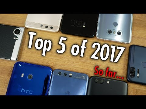 Top 5 Smartphones of 2017: Pocketnow Editors Vote on the Best So Far!