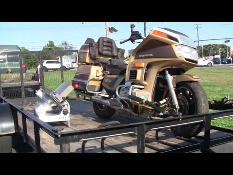1985 HONDA GOLD WING PROJECT