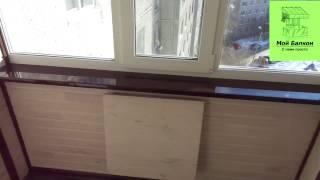 Отделка балкона по адресу Широтная 21 А