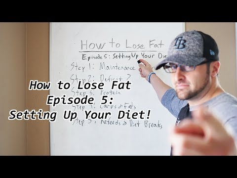 How Fat Loss Works Episode 5: Setting up Your Fat Loss Diet
