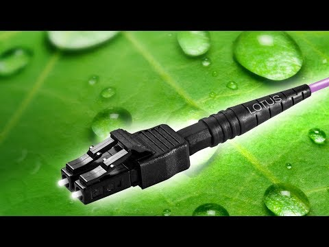 PreCONNECT® LOTUS - self-cleaning fiber optic connectors