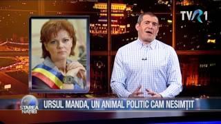 URSUL MANDA, UN ANIMAL POLITIC CAM NESIMȚIT