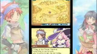 Rune Factory 2: A Fantasy Harvest Moon - Gameplay Trailer