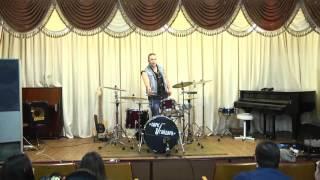 Мастер-класс для барабанщиков от Валентина Баринова