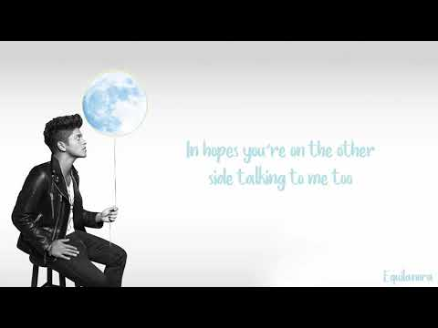 Bruno Mars - Talking To The Moon (Lyrics)