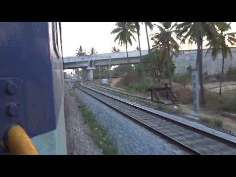 Onboard 16524 - Karwar Bangalore Express - Day 2