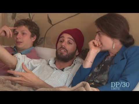 DP/30: Crystal Fairy, in bed with co-wr/dir Sebastian Silva, actors Michael Cera, Gaby Hoffman