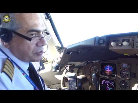 Captain Otello talking about his Azerbaijan Airlines B767 - Inflight interview [AirClips]