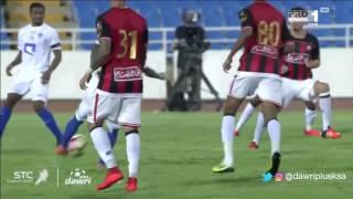دوري بلس - ملخص مباراة الرائد و الهلال في دور ال16 من كأس ولي العهد